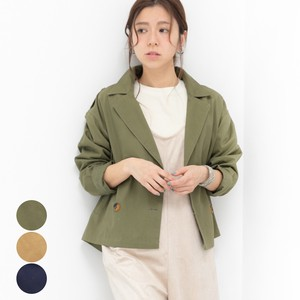 [2019NewItem] Cotton Short Trench Coat mitis