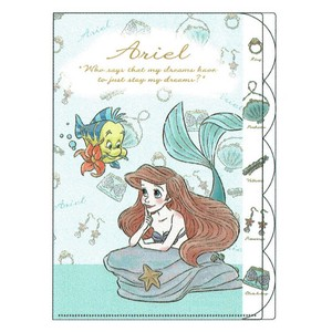Die Cut Plastic Folder Ariel set