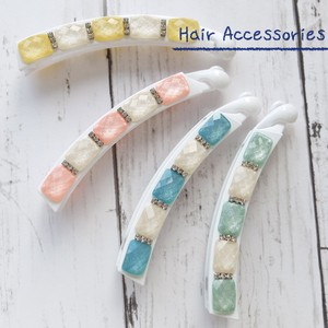 [2019NewItem] Pastel Color Banana Clip Set of Assorted Hair Accessory