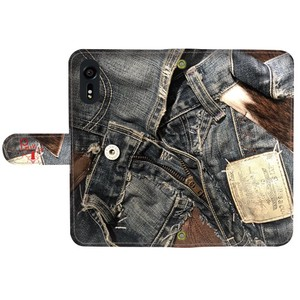 Prima Denim Collage Notebook Type Smartphone Case