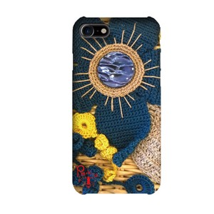 Prima Black Flower Smartphone Case