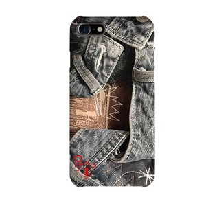Prima Denim Collage Smartphone Case