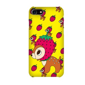 Strawberry Bambi Yellow Smartphone Case