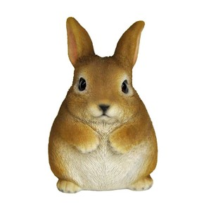 Resin Rabbit Piggy Bank Rabbit Bank