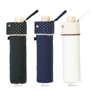 S/S All Weather Umbrella pin Dot Double Lace