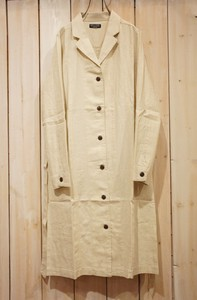 Carry S/S Rayon Canvas Belt Attached Coat