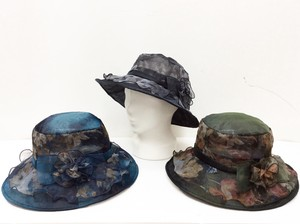 Double Floral Pattern Hat