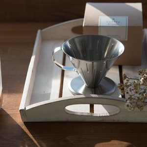 Stainless Coffee Dripper Tsubamesanjo Western Plates & Utensils