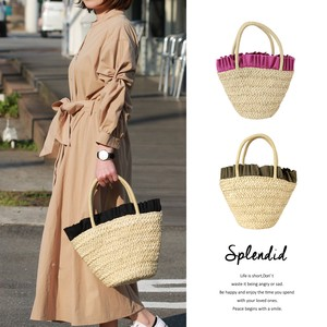 Tuck Frill Miscellaneous Materials Tote Bag Bag Bucket Bag Pouch