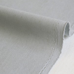 Fabric Plain Half Linen Champagne Gray Unit Cut Sales