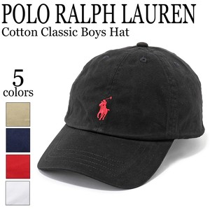 《即納&再入荷》POLO RALPH LAUREN《定番》■キャップ■Cotton Classic Boys Hat■323552489