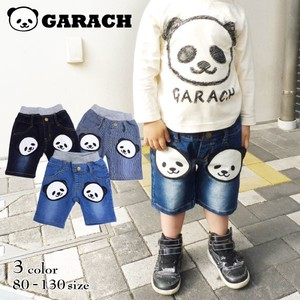 Panda Bear Applique Half Pants
