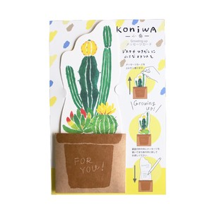 Message Card Cactus