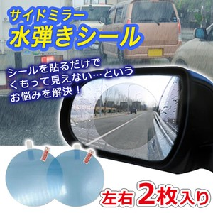 Mirror Prevention Film 2 Pcs Set