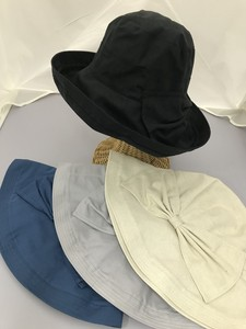 S/S Broad-brimmed Ribbon Hat