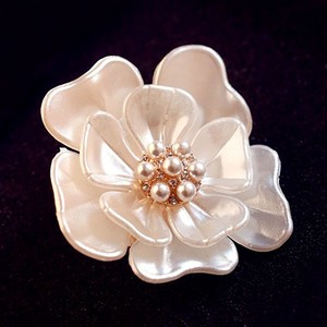 [2019NewItem] Flower Pearl Design Brooch