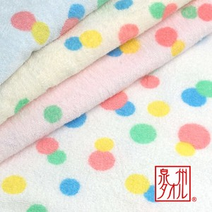 Dot Square Bathing Towel 100 100 Baby Made in Japan Gauze Towel