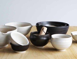 "[2019NewItem] Mortar Bowl ""Kitchen Goods"" Pottery Mino Ware"