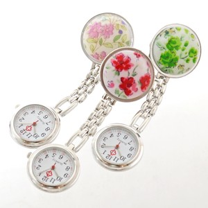Flower Art Watch Pocket Watch