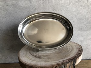 Stainless Curry Plate