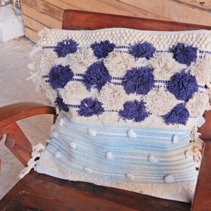 Weaving Cushion Cover Blue [2019NewItem]