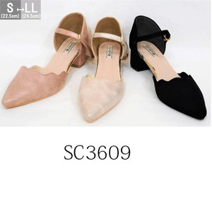 [2019NewItem] Spring Items Emergency Heel Wrap Cut Pumps SC