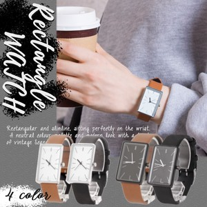 Design Watch Artificial Leather Wrist Watch