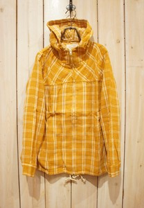 Carry S/S Gauze Checkered Jacket