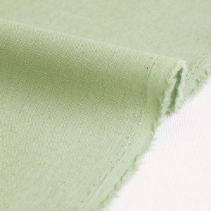 Fabric Plain Half Linen Unit Cut Sales