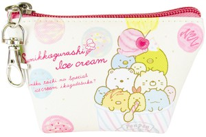 Sumikko gurashi Triangle Mini Pouch Ice Cream