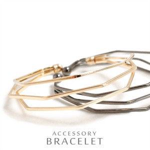Line Elegance Production Triple Metal Bangle