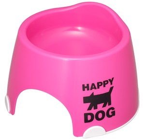 Products for Dogs & Cat Small Size Exclusive Use Food Bowl Nonslip Pink