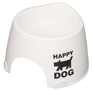 Products for Dogs & Cat Small Size Exclusive Use Food Bowl Nonslip White