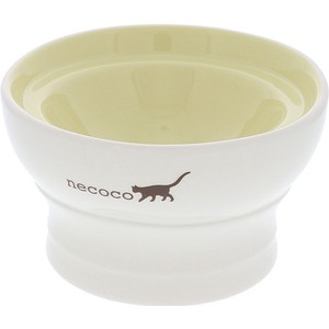 Products for Dogs & Cat Attached Pottery Plates & Utensil Dry Food