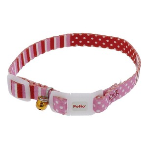 Products for Dogs & Cat Cat Border Dot Color Pink
