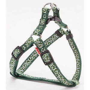 Products for Dogs & Cat Arabesque Harness Green