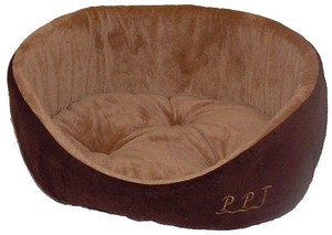 Pet Relation Supply Cute Puppy Bed Brown