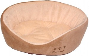 Pet Relation Supply Cute Puppy Bed Beige
