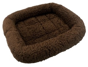 Pet Relation Supply Pet Life Bed Size S Dark Brown