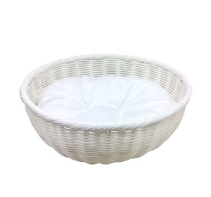 Pet Relation Supply Pet Hand Knitting Round Bed White