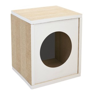 Pet Relation Supply Cat House Tall White