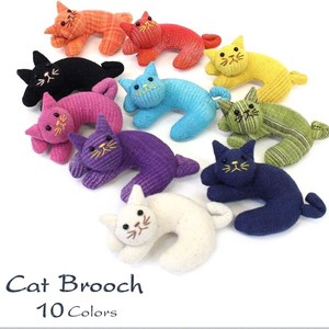 Cat Cat Brooch