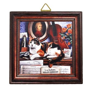 Square Wall Hanging Product Cat Relax