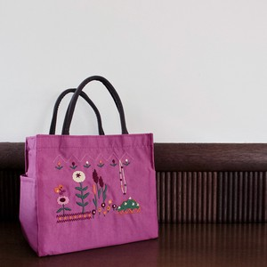 Embroidery Series Garden Pocket Square Tote
