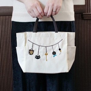Embroidery Series Charm Pocket Square Tote