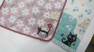 Noah Family Cat Mini Towel Tama-Chan
