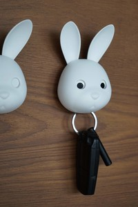 Rabbit Rabbit Key Ring