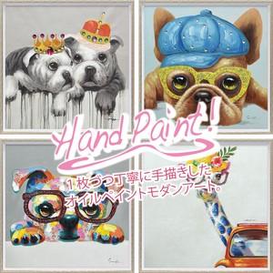 Oil Paint Art Size M 1 Pc Hand-Painted Canvas
