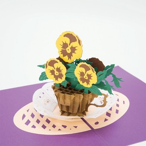 Pansy Greeting Card Postcard