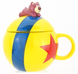 Figure Attached Mug Ball